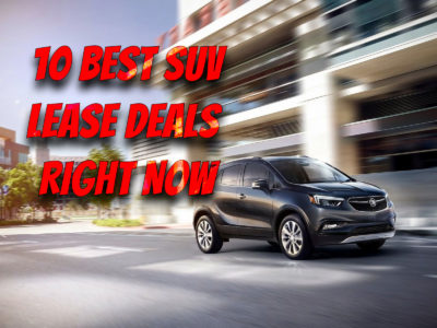 11 Best SUV Lease Deals Right Now: Most Affordable Crossover in 2021