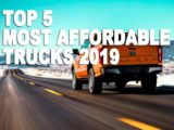 Most Affordable Trucks 2019