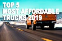 TOP 5 Most Affordable Trucks 2021   Best Performance on a Budget!