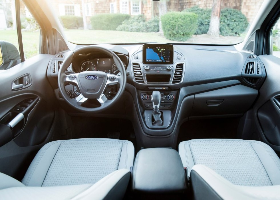 2020 Ford Transit Connect Wagon Interior Changes