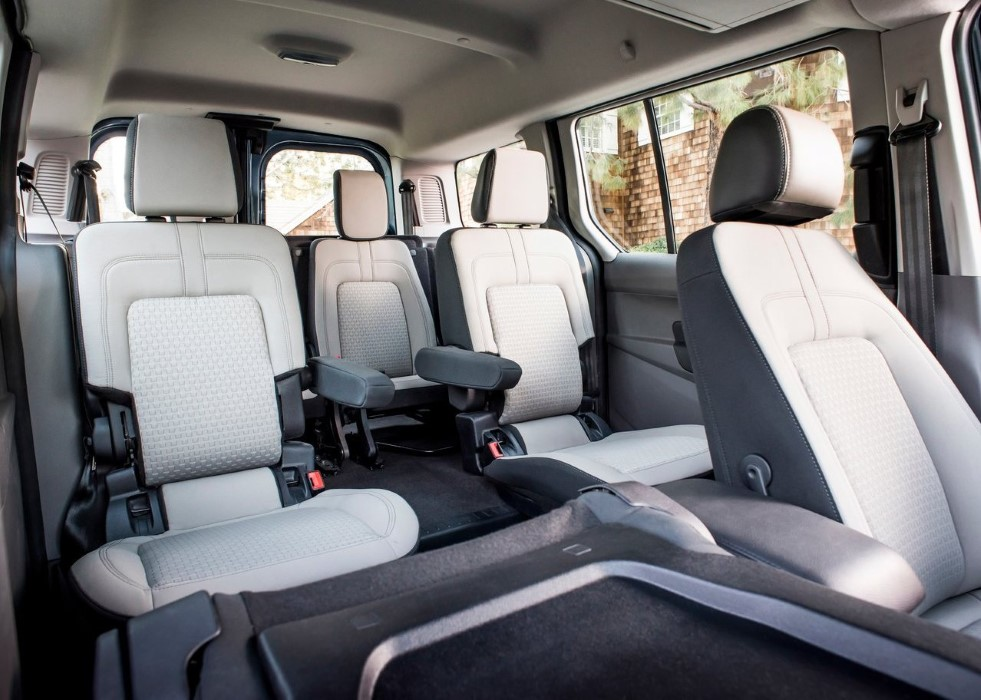 2020 Ford Transit Connect Wagon Seat Capacity