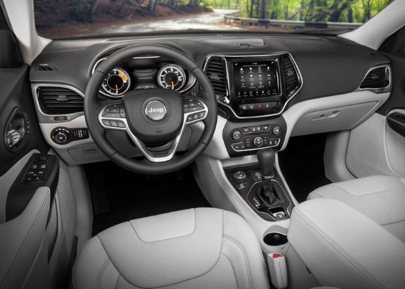 2020 Jeep Grand Cherokee New generation Interior