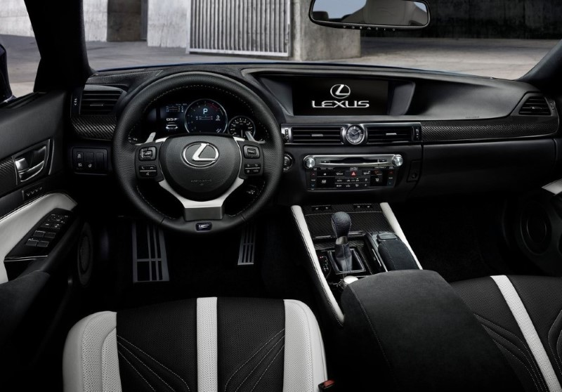 2020 Lexus GS Interior Leather & Colors