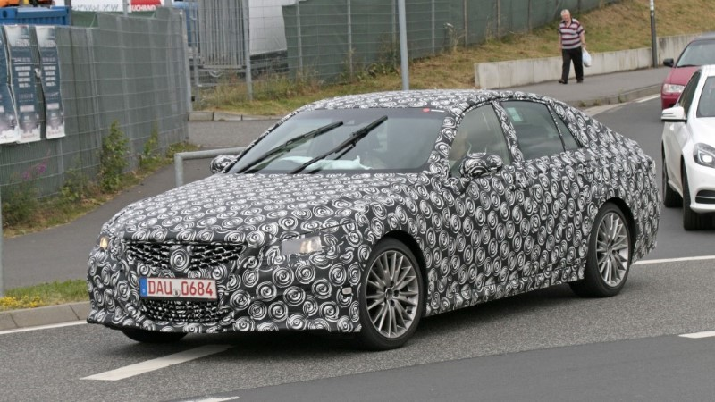 2020 Lexus GS Spy Shoot - Redesign & Changes