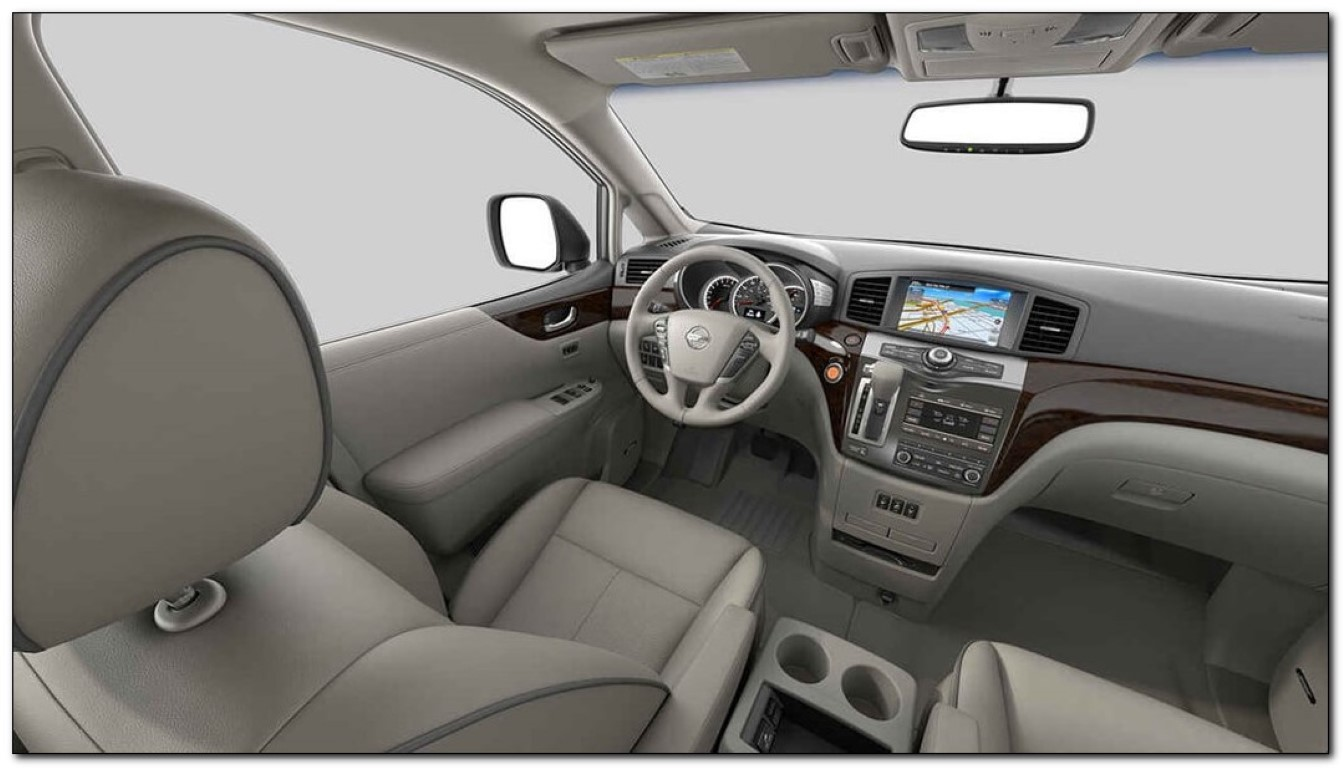 2020 Nissan Quest Interior Dashboard Feature Update