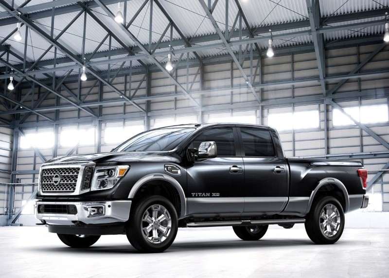2020 Nissan Titan XD Dimensions & Load capacity