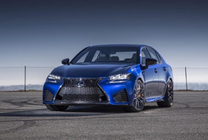New 2020 Lexus GS F Sport Blue Colors