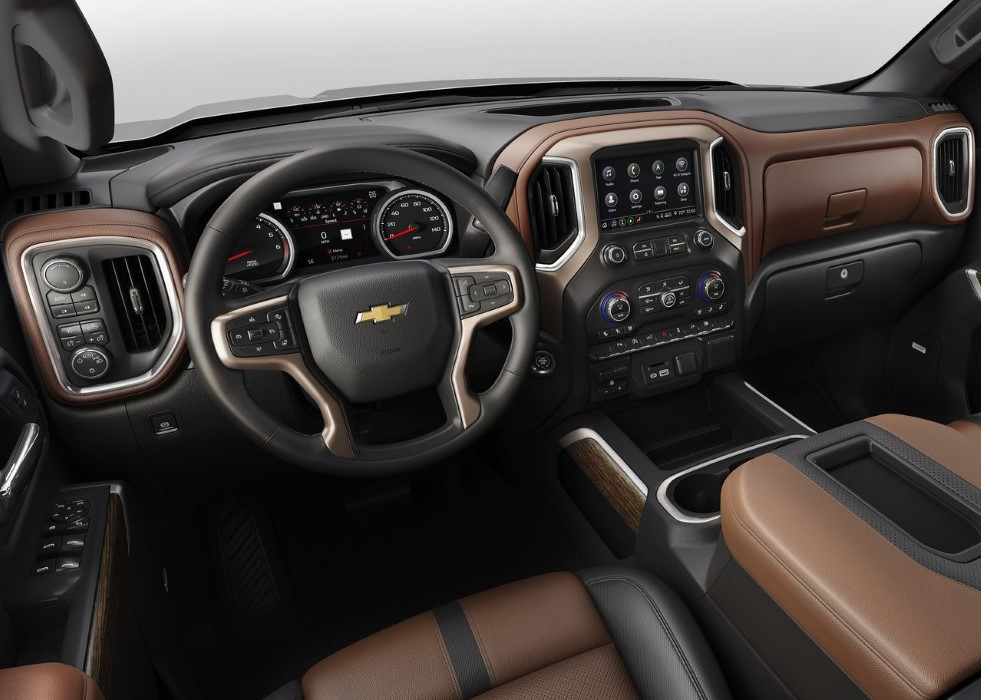 2020 Chevy Silverado Interior New Features