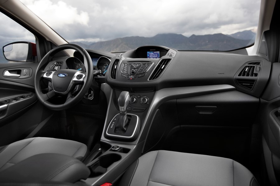 2020 Ford Escape Interior New Safety Features