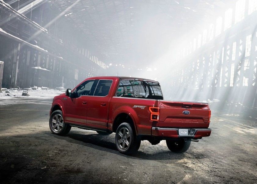 2020 Ford F150 Raptor Hybrid 7.0 Gas Powertrain