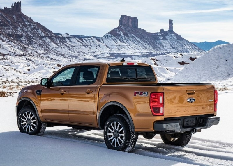2020 Ford Ranger Engine 4.0 l V6 Sport