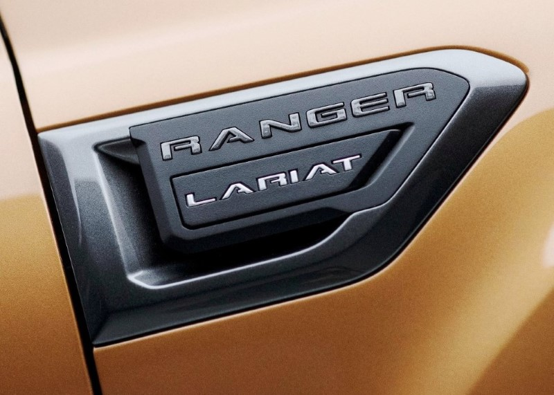 2020 Ford Ranger Lariat Model