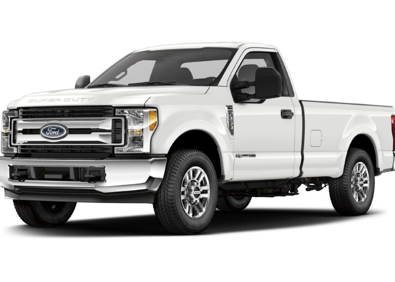 2020 Ford Super Duty F250 Diesel V8 Engine