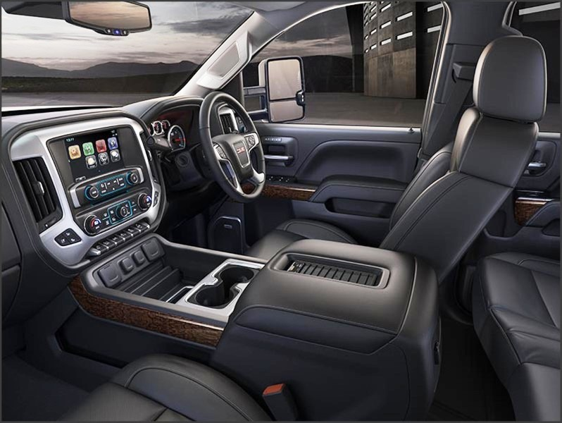 2020 GMC 3500HD Duramax Interior Updates