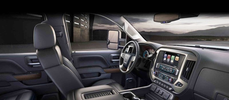 2020 GMC 3500HD Duramax Interior features