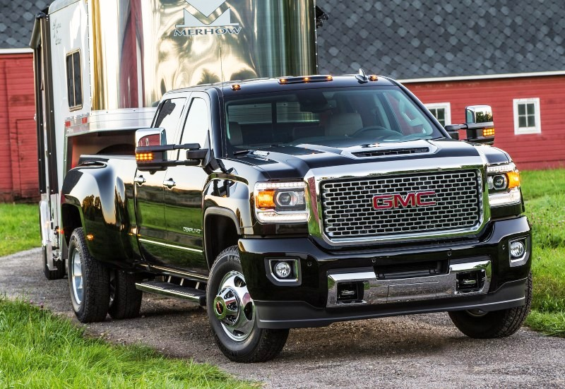 2020 GMC 3500HD Duramax Towing Capacity