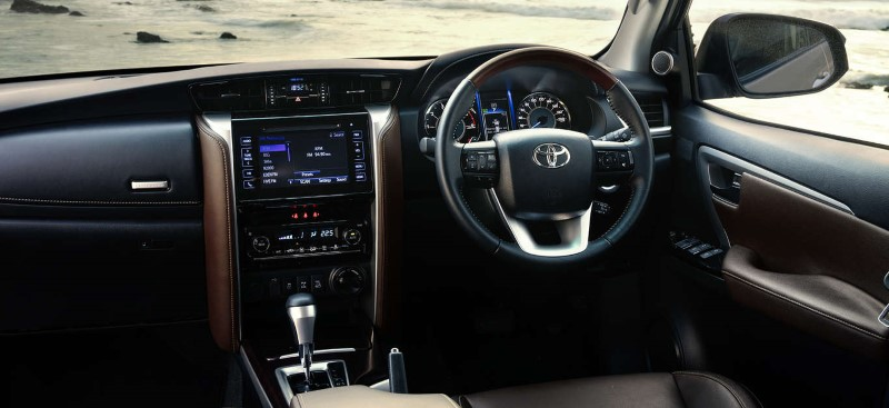 2020 Toyota Fortuner Interior Updates