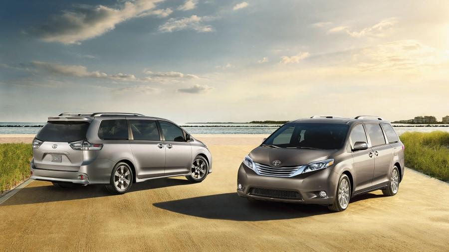 2020 Toyota Sienna Van Purpose Mini