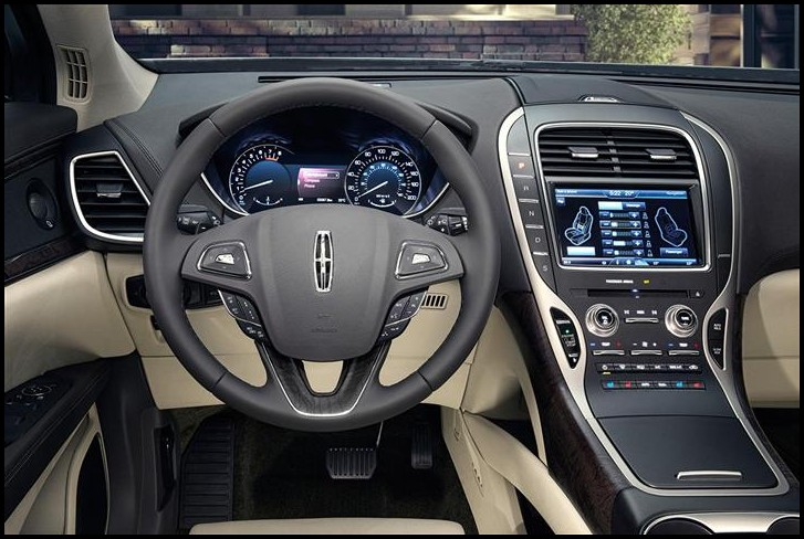 Upcoming MKZ Lincoln 2020 Interior Dashboard With New Features Apple Carplay