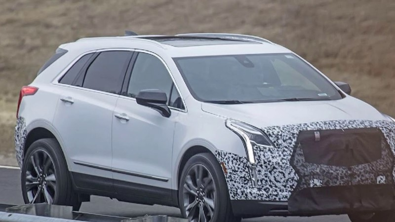 2020 Cadillac XT5 With Panoramic Sun Glass