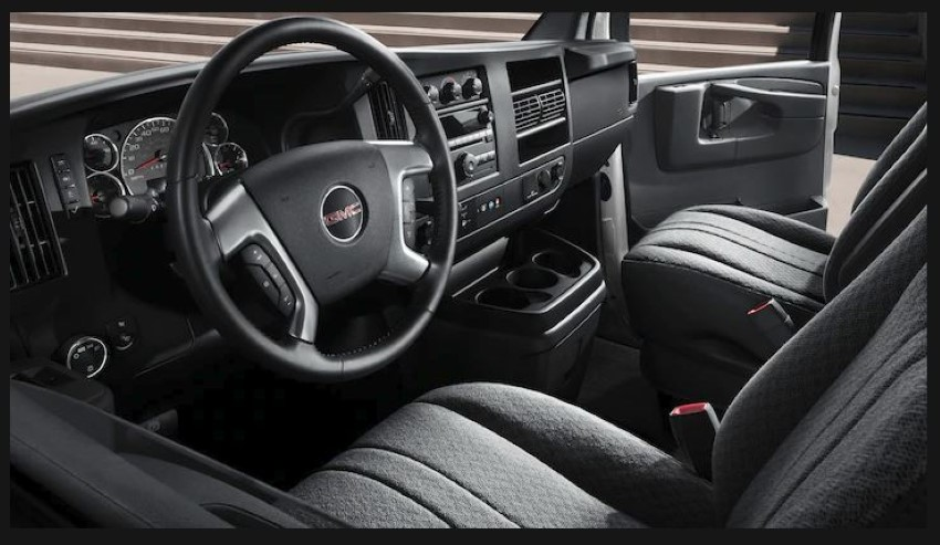 2020 GMC Savana Interior Images