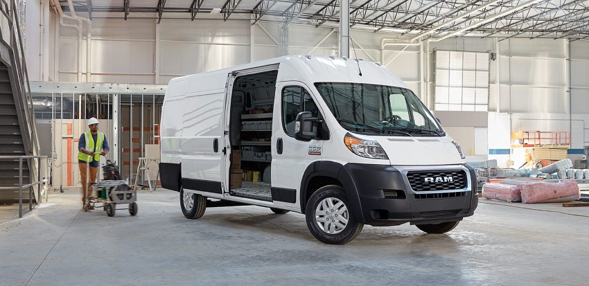 2020 RAM ProMaster Cargo Van Redesign & Changes