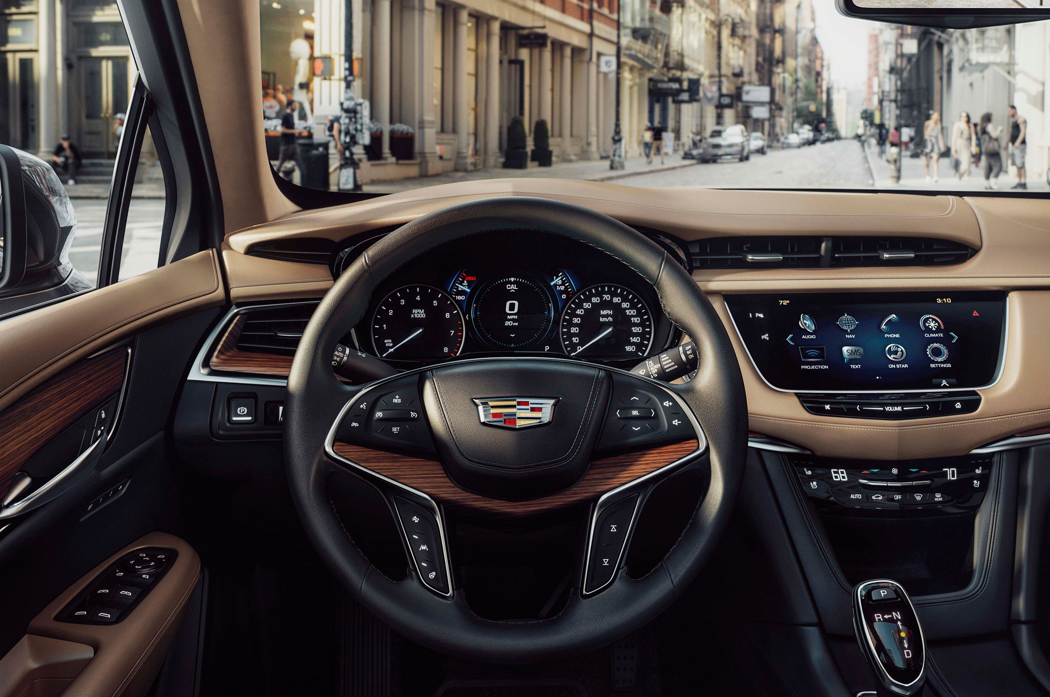 New Cadillac XT5 Interior Features - Best Small Luxury SUV 2020
