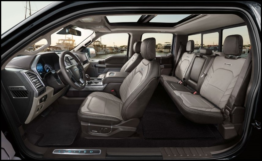 2019 Ford Raptor Interior Seating Capacity