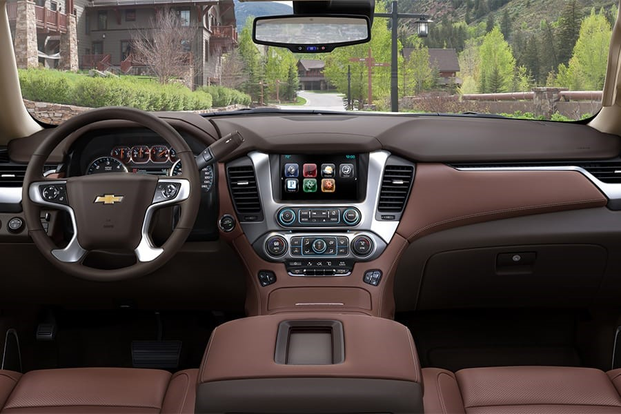 2020 Chevy Suburban Interior New Features