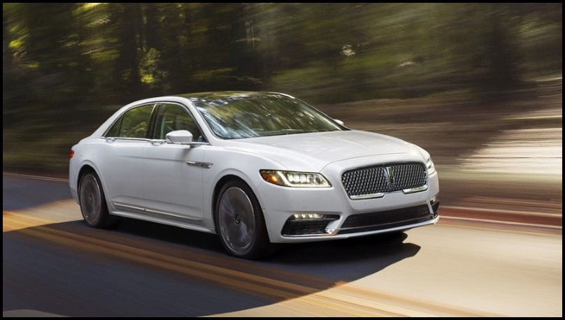2020 Ford Lincoln Continental Price & Equipment
