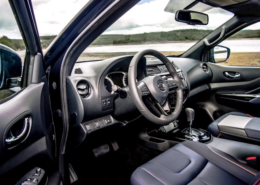 2020 Nissan Navara New Interior