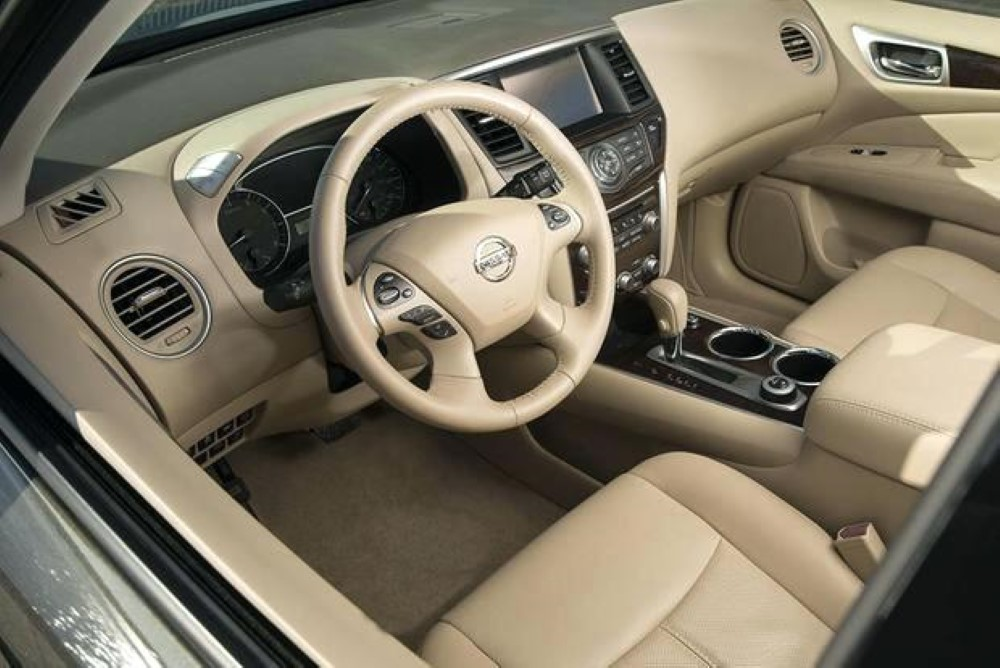 2020 Nissan Pathfinder Leather Interior