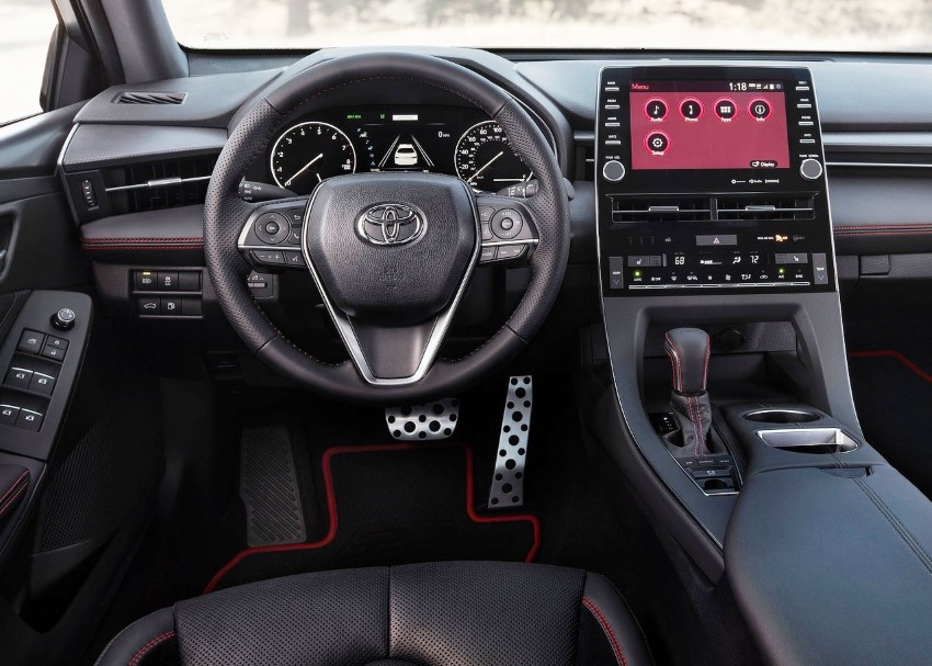 2020 Toyota Avalon Interior Features