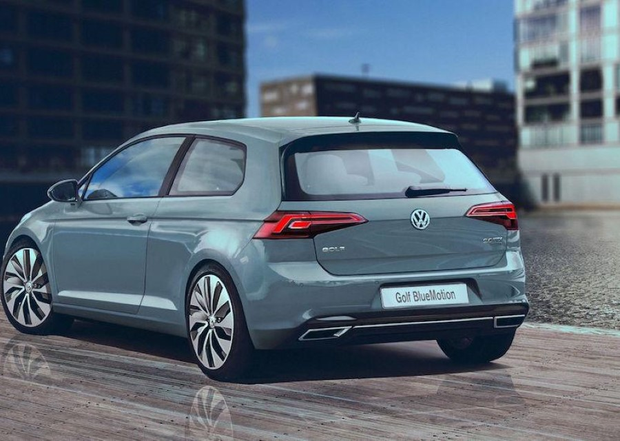 2020 VW Golf 8 1.8 Tsi Engine