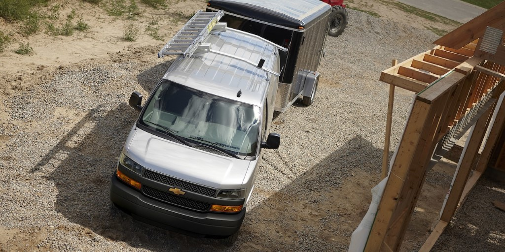 2020 Chevy Express Towing Capacity