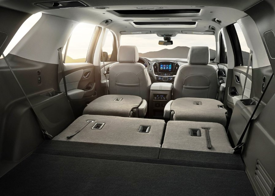 2020 Chevy Traverse Interior Capacity