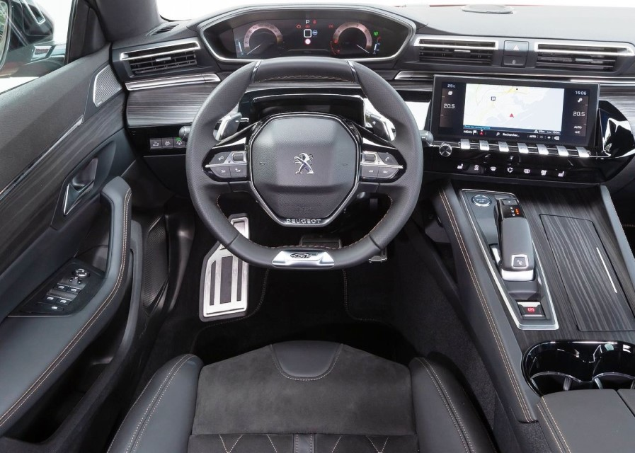 2020 Peugeot 508 Interior Technology With i-Cockpit