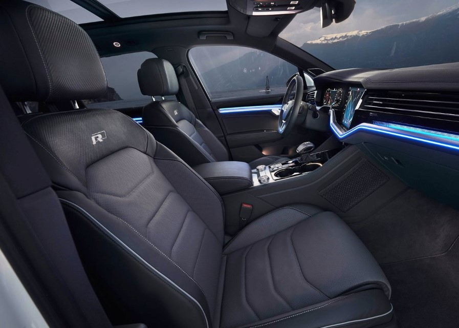 2020 VW Touareg Interior Changes
