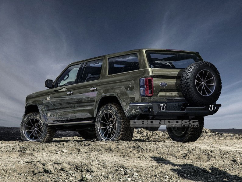 2020 Ford Bronco 4-Door Hybrid Engine