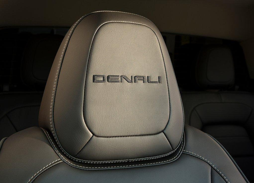 2020 GMC Canyon Denali Interior Seating