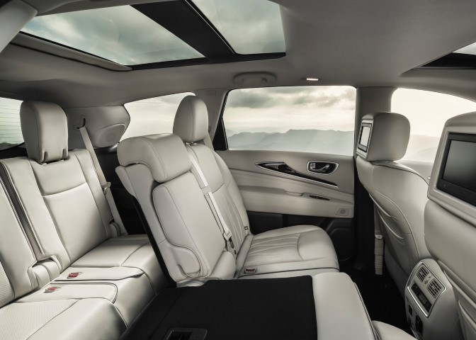 2020 Infiniti QX60 Interior Changes