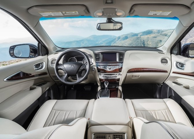 2020 Infiniti QX60 Interior Dimensions & Features