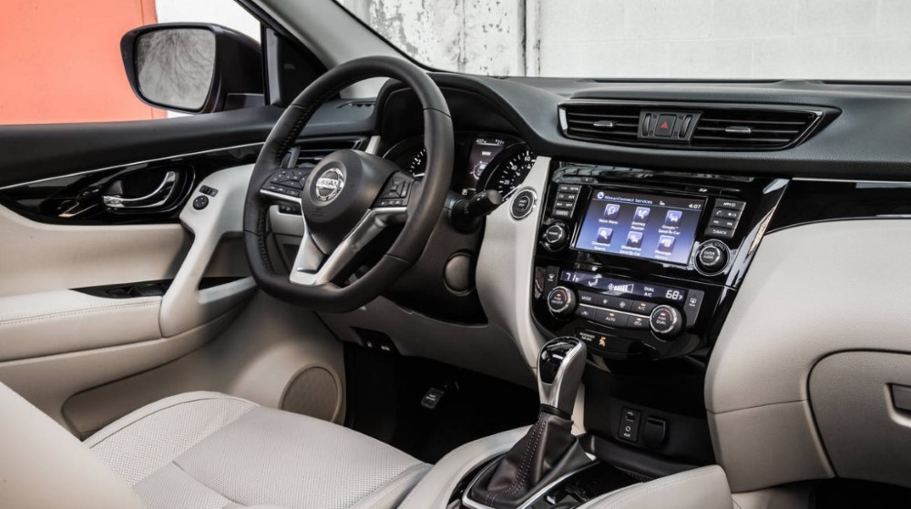 2020 Nissan X-Trail Interior Updates