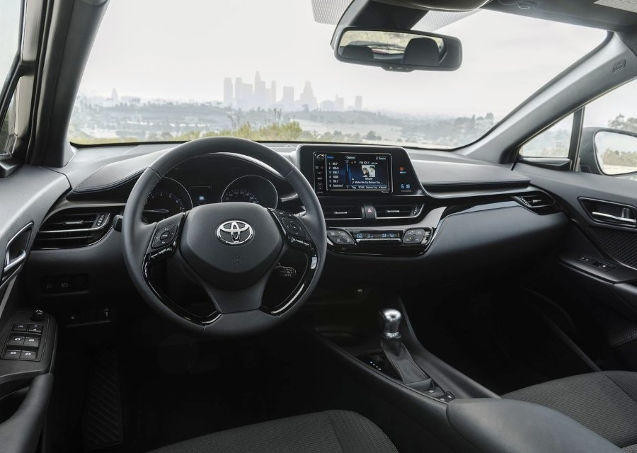 2020 Toyota C-HR Hybrid Interior & Features
