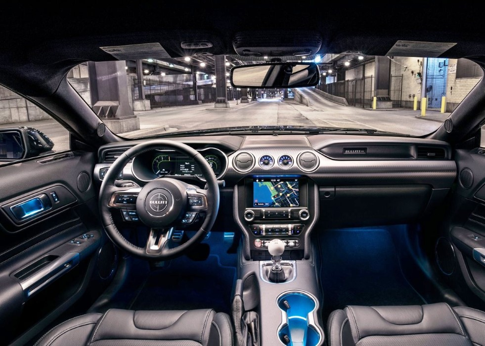 2020 Ford Mustang Bullitt Interior Features