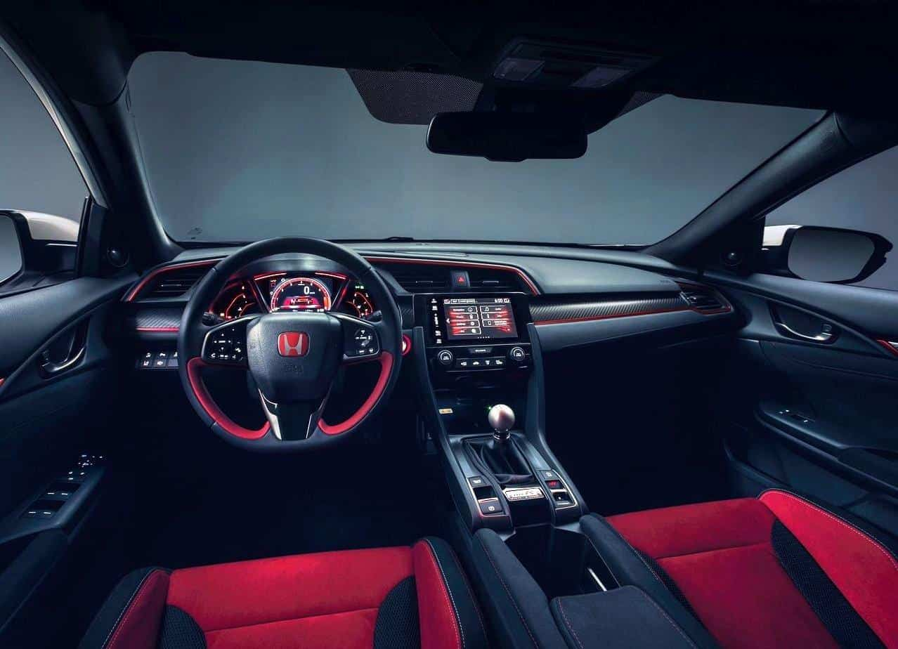 2020 Honda Civic Type-R Interior