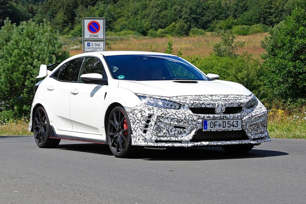 2020 Honda Civic Type R Spied Images
