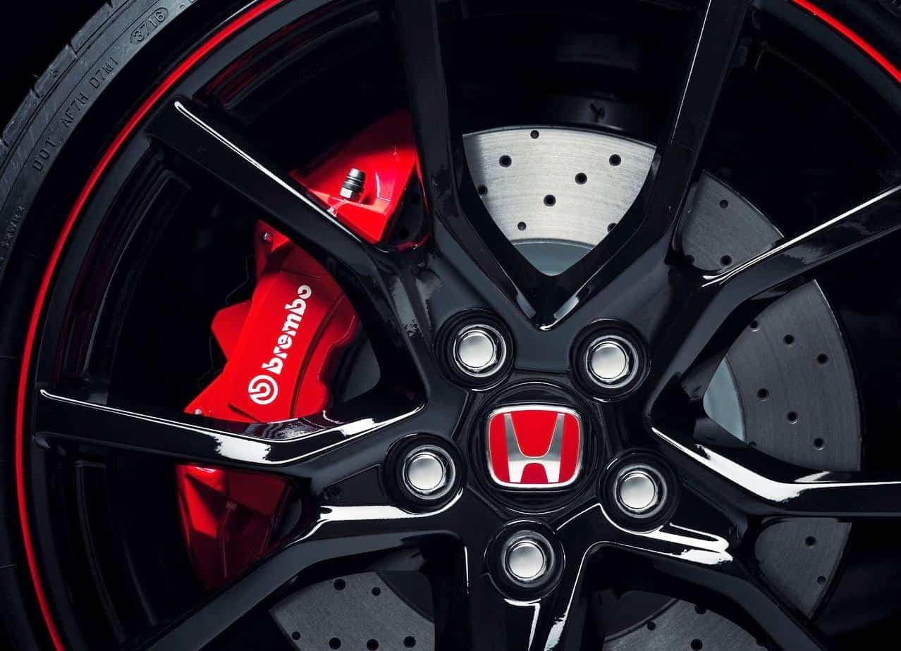 2020 Honda Civic Type-R Wheel Size