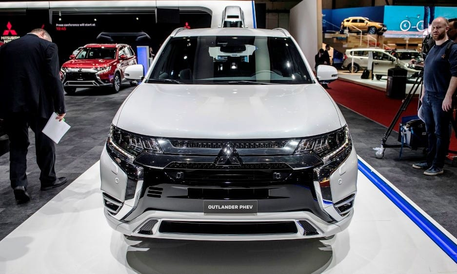 2020 Mitsubishi Outlander PHEV Charging Time