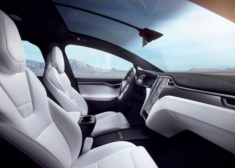 2020 Tesla Model X Interior Pictures